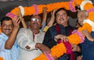 नॉएडा में AAP की रैली में शत्रुघ्न संग पहुंचे BJP के बागी नेता यशवंत सिन्हा, आप के चुनावी अभियान की शुरुआत