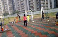 नॉएडा वासियों को दीपावली का गिफ्ट : नोएडा के सेक्टर 74 के अथॉरिटी पार्क में ओपन जिम होगा शीघ्र चालू