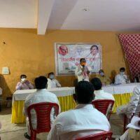 भारतीय जनता पार्टी गौतमबुद्ध नगर की एक मासिक बैठक संपन्न